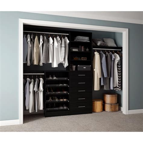 D Closet by Home Decorators Collection Assembled Reach In 15 In D X