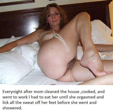horny mom captions naked photo