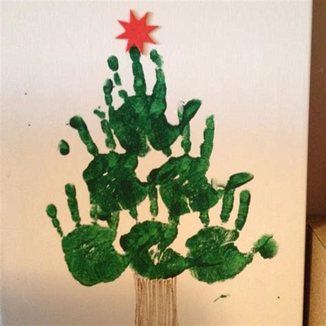 christmas tree crafts for toddlers pictures reference