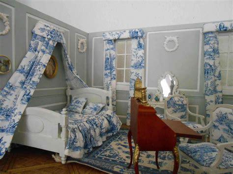 toile chambre adulte décoration chambre toile de jouy