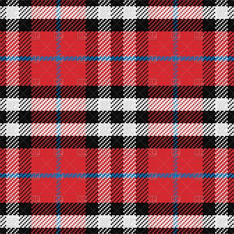 scottish tartan pattern vector image  backgrounds