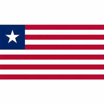 Vlag Vlaggen Vlaggenclub Afkomstig Verenigde Staten Liberia