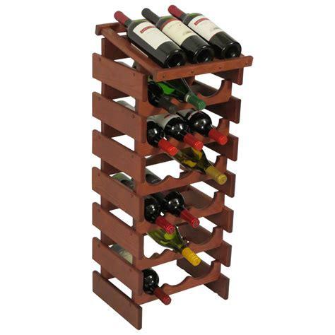 Wine Rack Display   21 Bottle in Wine Racks
