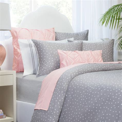 grey duvet cover grey polka dot duvet cover the elsie grey crane canopy