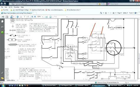 diagram kenmore gas dryer wiring diagram