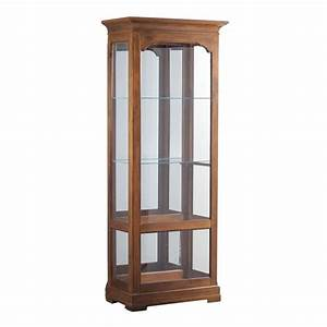 Powell Furniture Oakdale Large Curio The Classy Home