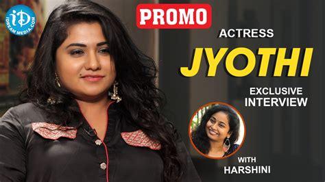 actress jyothi interview actress jyothi exclusive interview promo talking movies