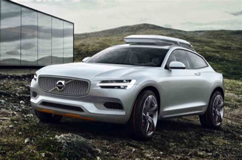 New Volvo Concept Xc Suv Leaked  Car News Suv