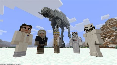 star wars content added  minecraft  playstation