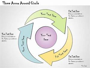 1013 Business Ppt Diagram Three Arrow Around Circle