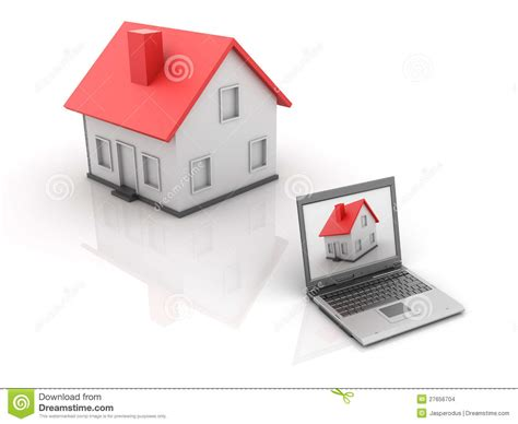 Real Estate  Online House Stock Images  Image 27656704