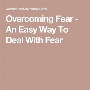 Overcoming, Fear