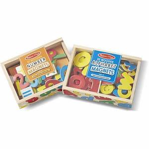 melissa doug deluxe magnetic letters and numbers set With melissa and doug magnetic alphabet letters