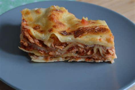 lasagnes au saumon facile  preparer