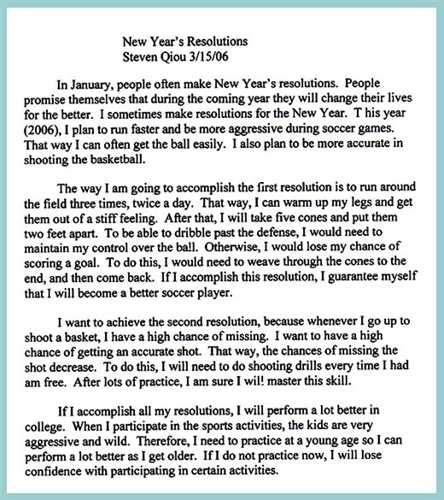 New Year Festival Essay by My New Year Resolution Essay Great College Essay