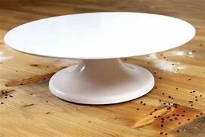 Tortenplatte Mit Fuß : tortenplatte 32 cm wei drehbar mit fu melamin 10 cm hoch ~ Frokenaadalensverden.com Haus und Dekorationen