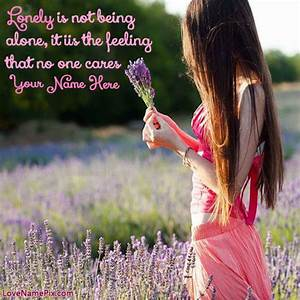 Pics For > Loneliness Girl Quotes Hd