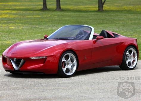 Alfa Romeo Roadster And Mazda Mx5 To Be Built In Same