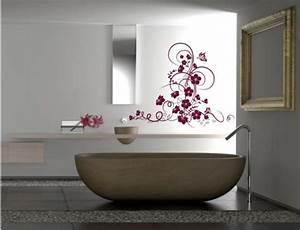 Stickers ambiance nature sticker mural avec zhao deco for Salle de bain design avec décoration murale stickers muraux autocollants