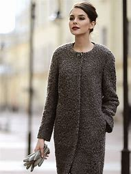 теплое пальто спицами для женщин схемы и описание бесплатно