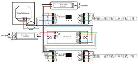 dmx512 signal lifier sr 2100