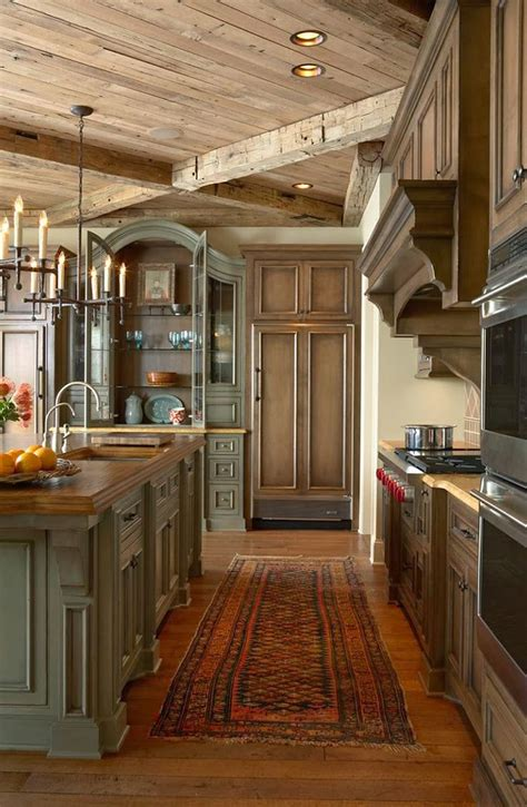 rustic kitchen designs  bring country life design bump