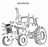 Dot Printable Bookmarks Tractor Western Equestrian Print sketch template