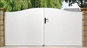 Portail Pvc Pas Cher : portails pvc sur mesure habitat discount portails et ~ Edinachiropracticcenter.com Idées de Décoration