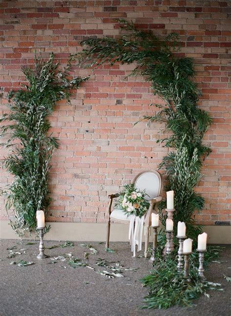 organic elegant wedding inspiration en  ceremonie