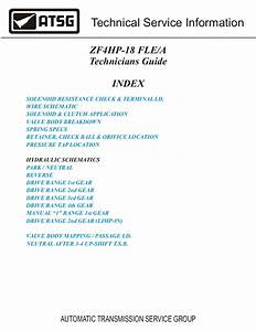 Zf 4hp18 Transmission Technicians Guide Pdf Download