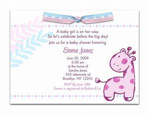 Baby Shower Invitations, Card ~ Simple Design Baby Shower ...