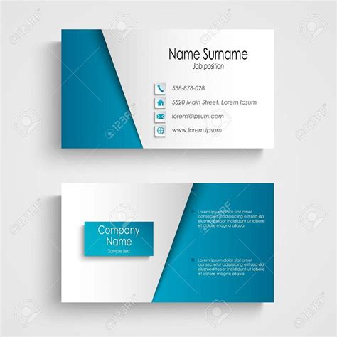 business card template gimp ten business card