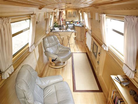 Boat Interior Layout by Narrow Canal Boat Interior Canal Boats Pinterest