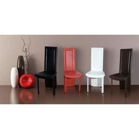 lot de 8 chaises pas cher lot de 8 chaises maestro noir achat vente chaise salle a