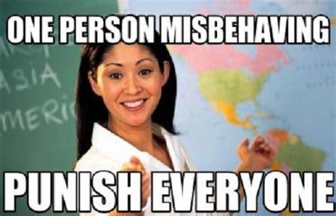 Popular Funny Memes - bad teacher popular meme
