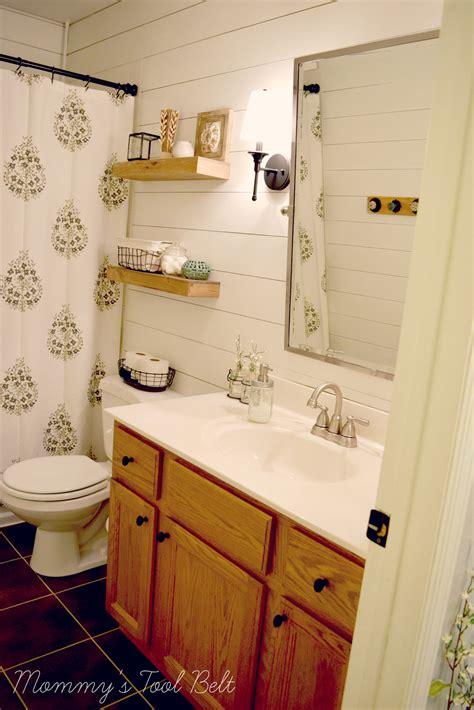 Shiplap For Bathroom Walls by Diy Faux Shiplap S Tool Belt