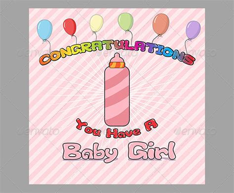 congratulations card for new baby template 11 congratulations card templates pdf psd eps free