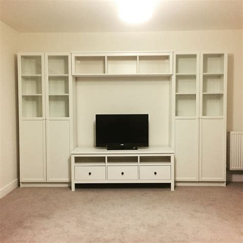 Ikea Hemnes Arbeitszimmer by 15 Best Of Bookcase With Tv Storage