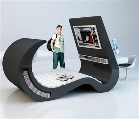 futuristic beds  people  specific taste