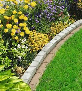 Rasenkantensteine Beton Maße : rasenkante rasenfix 22x12x4 5 cm grau beton kaufen bei ~ A.2002-acura-tl-radio.info Haus und Dekorationen