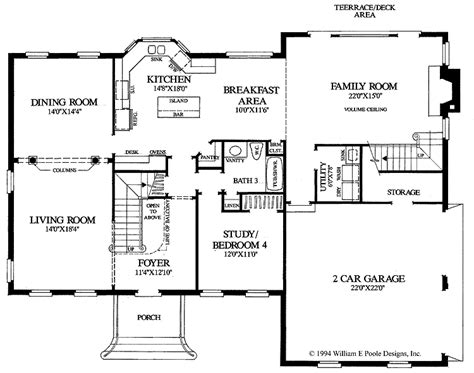 center colonial floor plans georgian colonial house plans colonial home floor plans