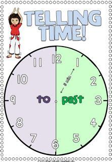 time   teaching kids   time images