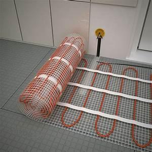 Prix Plancher Chauffant Electrique : plancher chauffant electrique cable kit matt 120w m ~ Premium-room.com Idées de Décoration