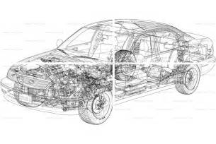Car Line Drawing
