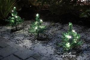 5xled lichterkette tanne gartenstabe balkon garten deko With französischer balkon mit mini garten weihnachten