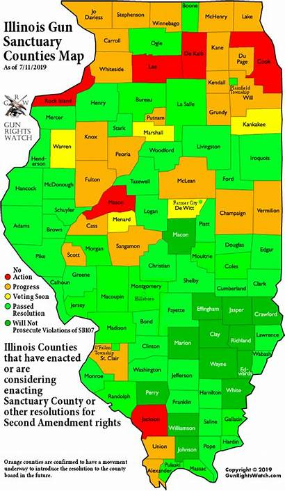 County Illinois Gallatin Jasper 2a Bureau Counties
