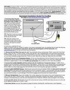 Quickstart Installation Guide For Coolbot