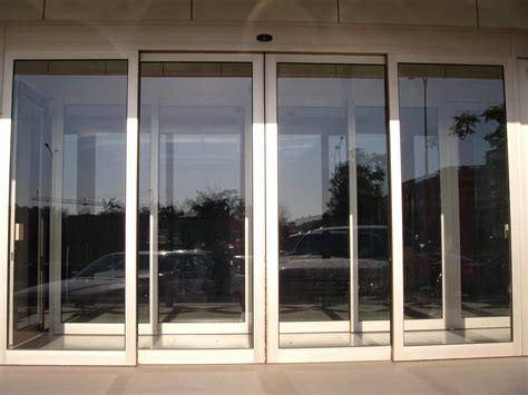 automatic sliding glass doors china mbsafe classic type of automatic glass sliding door