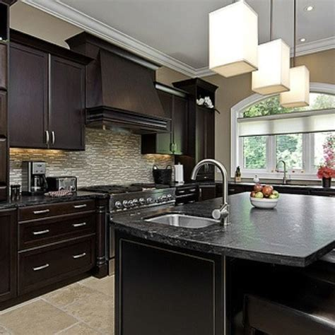what color floor with dark cabinets dark cabinets with light tile floor kitchen dining
