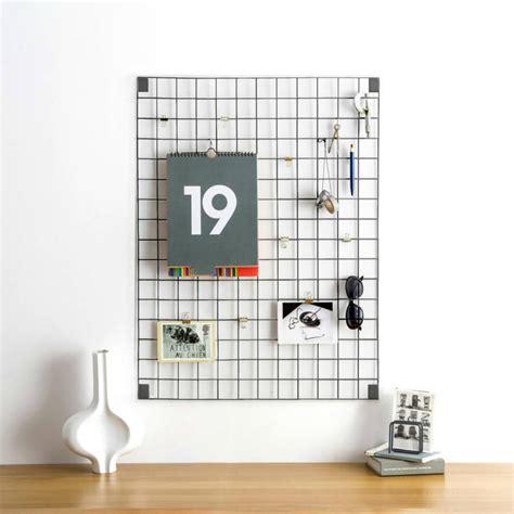 Meme Boards - wire mesh memo board grey such such